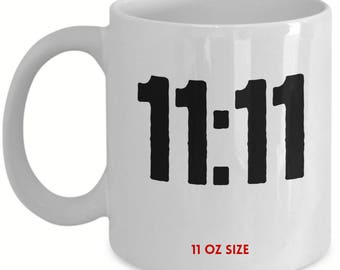 11:11 Code Mug - Spiritual - Awakeing - Coffee Mug - Gifts