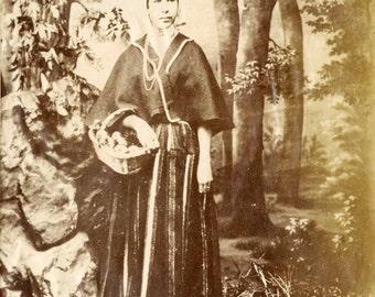Madeira. typical dress