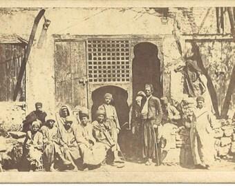 Café arabe. Le Caire. Antoine Beato