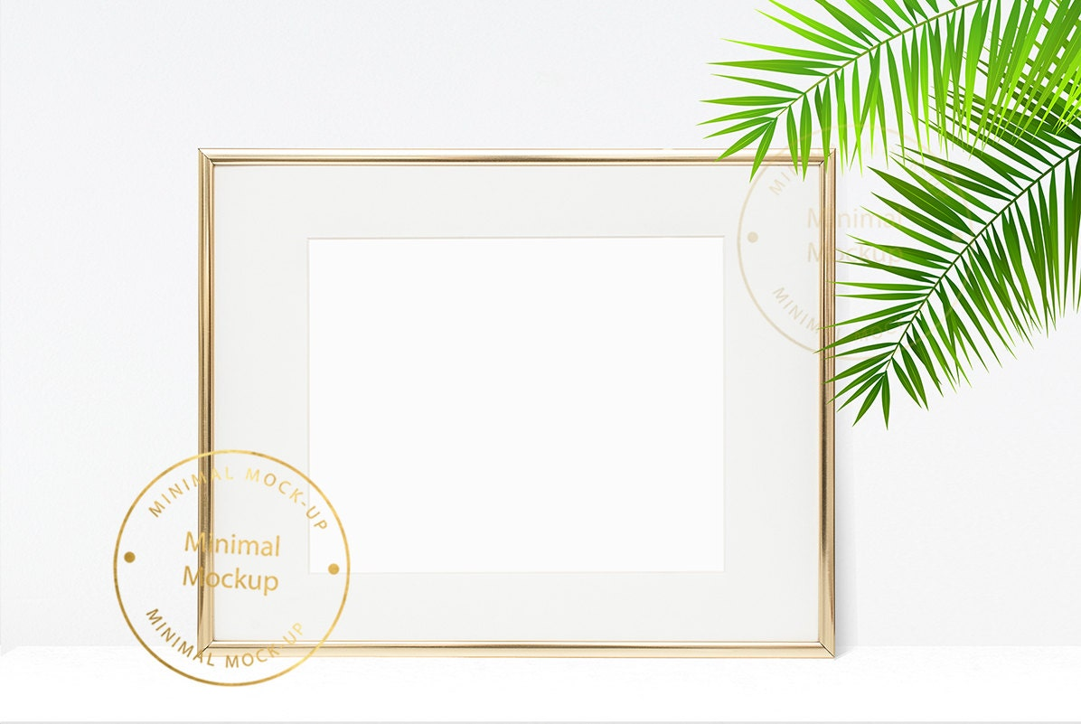 frame mockup 8x10 frame mockup modern frame mockup print. Black Bedroom Furniture Sets. Home Design Ideas