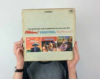 The Rodgers And Hammerstein Deluxe Set / Oklahoma! / Carousel / The King And I / Capitol Records STCL-1790 / Vintage Vinyl Record