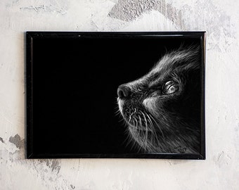Cat in light FREE SHIPPING