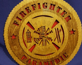 "12"" Firefighter/Paramedic"