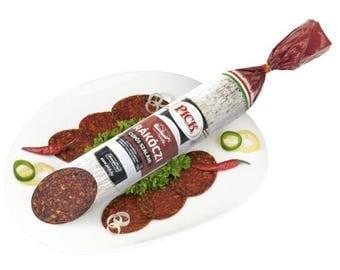 Free Shipping--Hungarian PICK Rákóczi Hot Salami 800g/28.2 oz --Free Shipping  Perfect gift
