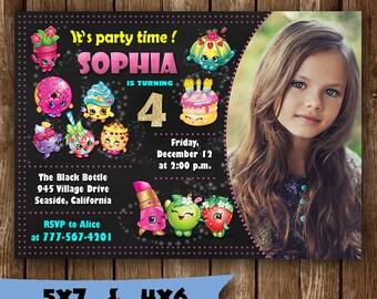 Shopkins invitation shopkins birthday invitation shopkins party invitation shopkins invite hopkins tickets birth printable supplies svg card