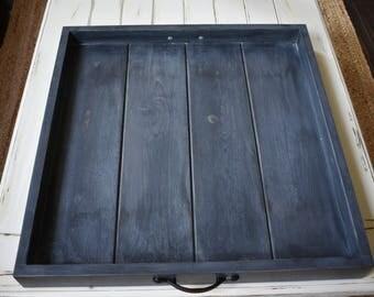 Oversized ottoman trays
