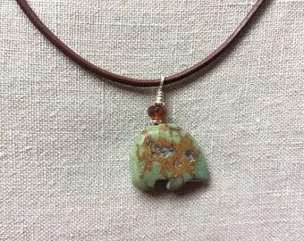 Bear Fetish necklace