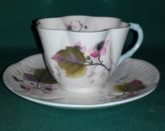 Shelley Bramble Dainty Cup and Saucer