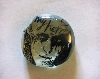 """ON SALE Limited Edition """"Lexa is My Hero"""" Magnet/Pin/Pendant"""