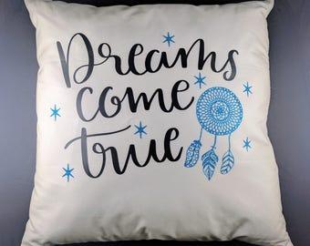 Throw Pillow w/ insert 16 x 16 inch - Dreams Come True