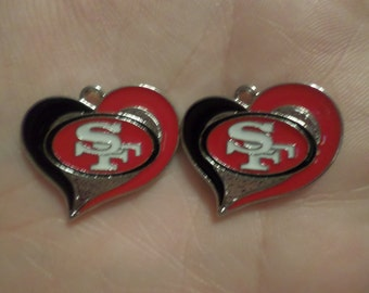 SPECIAL ORDER FOR short peanutbutter 1 Set of 2 San Francisco Charms