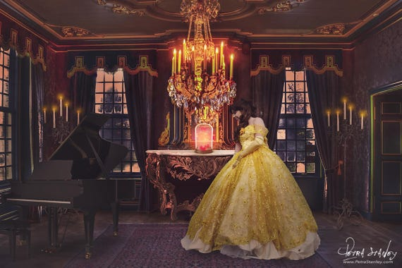 Beauty the beast background princess belle backdrop beauty the beast background princess belle backdrop ballroom chandelier grand piano wedding backdrop children backdrop for girls mozeypictures Gallery