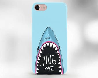 iPhone 6 case shark case hug me case iPhone 7 case iPhone 6s shark case  sharks iphone 7 plus case shark iphone 5 case shark phone cover SE