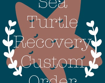 "Sea Turtle Recovery 3""x4"" Photo Magnets"