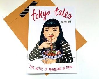 Tokyo Tales: Travel Zine