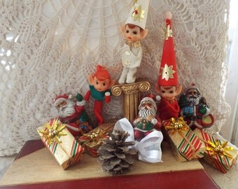 1960's Vintage Christmas Tree Ornaments