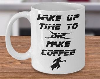 "Blade Runner ""Wake Up Time To Make Coffee"" Novelty Coffee Mug"