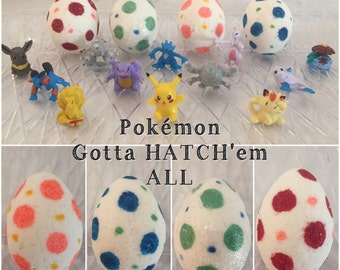 4 Pack POKEMON BATH B0MB