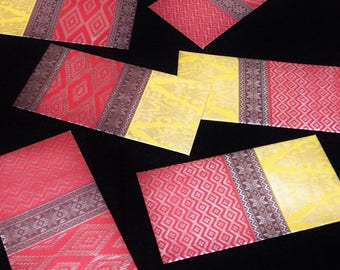 6 Pieces Lucky Envelope/ Red Envelope/ Money Pocket/ Angpow/ Angpau/ Hong Bao for Chinese New Year/ Birthday/ Wedding/ Special Event