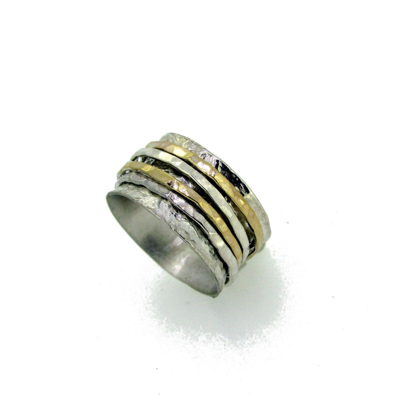 spinning meditation rings sterling silver meditation rings
