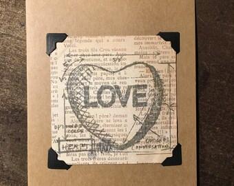 Valentine cards, love, valentine