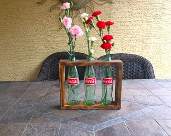 Coke Bottle Flower Vase