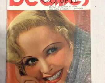 Review beauty magazine 1937