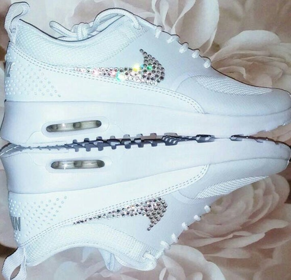 lovely Womems Swarovski Nike air max thea bling Nike by InsaneCrystals 39a132c32