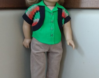 Colorful casual wear for your doll