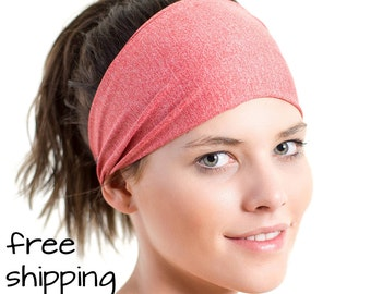 Red Sports Sweatband - Light Weight Single Layer - Breathable - Ideal for Cycling - Australian Made