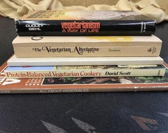 Vintage Vegetarian Cookbook Set!