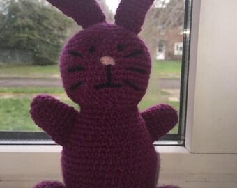 Purple bunny rabbit
