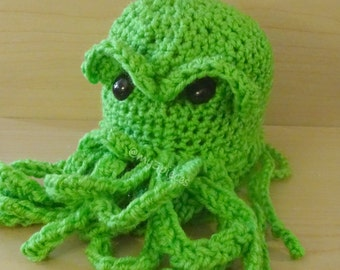 Cthulhu Dice Bag (made to order, ships in 7-10 business days)