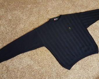 Vintage 1990s Chaps Ralph Lauren Hand Framed Cotton Sweater