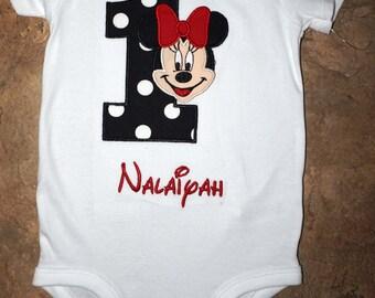 Minnie Mouse Birthday shirt
