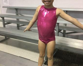 Child leotard, pink leotard, adult leotard, gymnastics leotard, dance leotard, girls gymnastics leotard