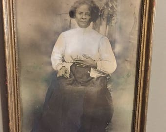 Vintage african american photograph