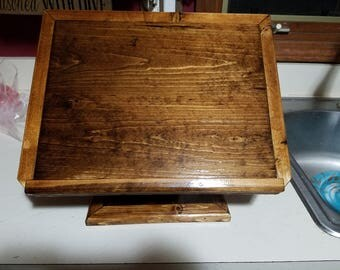 Desktop podium, lecturn, book stand, laptop stand, Bible stand