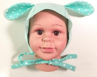 Baby bunny ears hat, bunny ear hat, childrens bunny ears hat, bunny ears hat, easter bunny hat, baby easter bunny ears