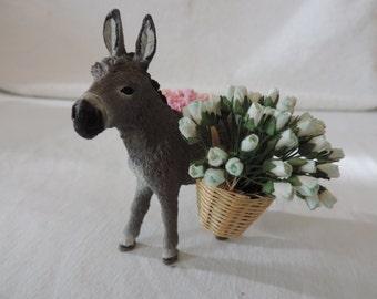 "1:12 scale""Tonino"", funny, small donkey perfect for your italian market"