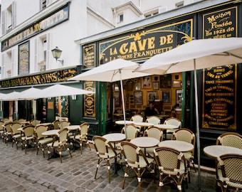 Paris Cafe, Paris Photography, Fine Art Photography, French Home Decor, Paris Print, Paris Photo, Paris Wall Art, France Photography, Cafe