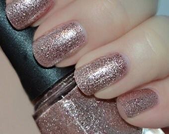 Southern Charm - Pink & Metallic Glitter Nail Polish