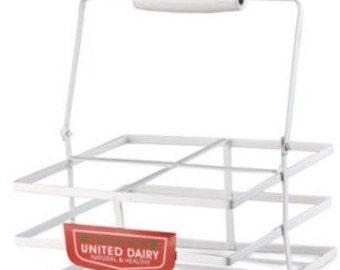 Old school milk crate.