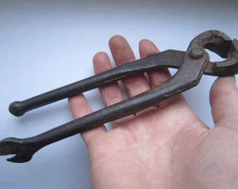 Soviet pliers,Vintage pliers, pliers USSR,pliers SSSR,Soviet pincers,rusty pliers,dekor rusty  pliers,Rustic Soviet tools,Soviet tools