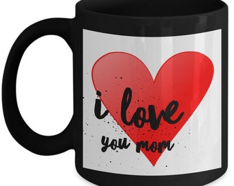 Mugs for best mom coffee I love mom mug