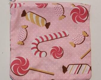 """Candy"" zippered pocket"
