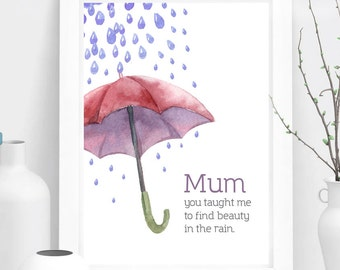 Mothers Day Gift, Gift for Her, Gift for Mum, Special Gift, Mothers Day Wall Art, Home Decor, Mothers Day Print
