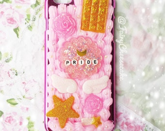 SALE • Kawaii Sailor Moon whip-cream Handyhülle • iPhone6 plus • Silikon Gießharz Decoden