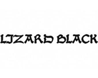 Lizard Black Font Embroidery Font Set Instant Digital download