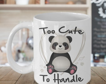 Panda Mug - Panda Lover Mug - Panda Lover Gift - Gift For Panda Lovers -  Panda Coffee Mug - Funny Mug - Funny Panda Mug - Gift Mug